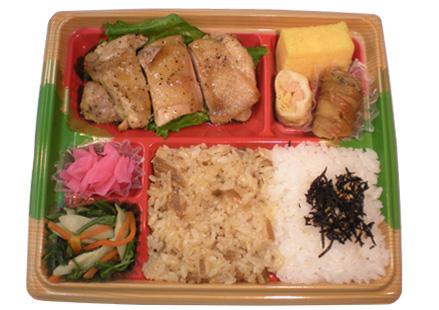 隅田川弁当 チキンバジル