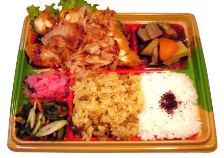 隅田川弁当 和風チキンカツ