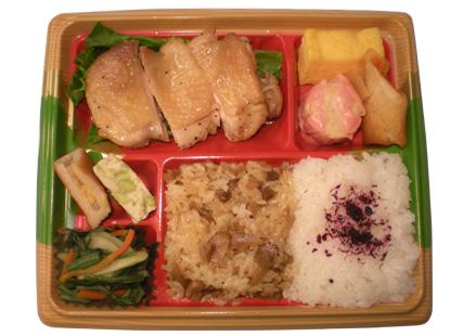 隅田川弁当 鶏塩だれ