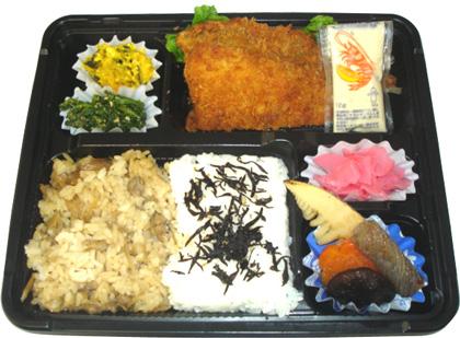 隅田川弁当 漁火漁アジフライ