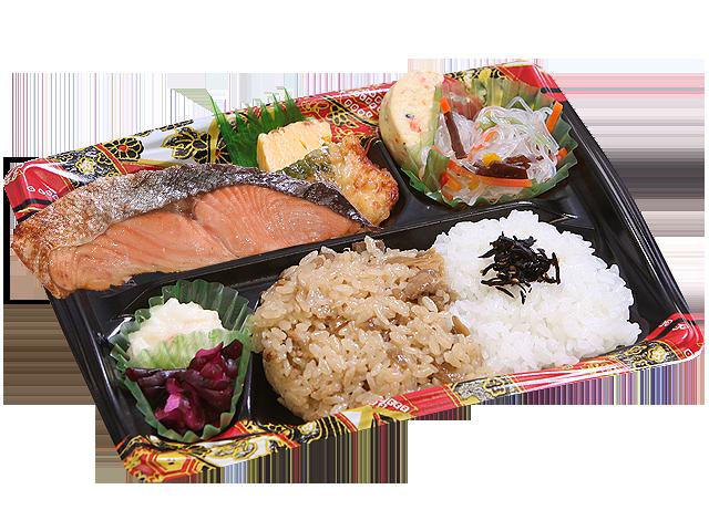 隅田川弁 鮭の塩焼き