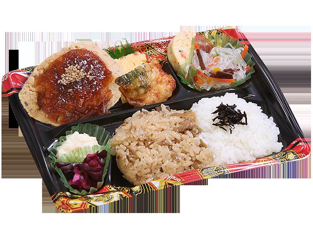 隅田川 豆腐ハンバーグ