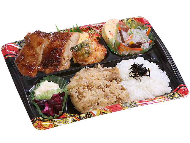 隅田川 鶏の照焼き
