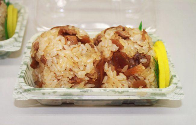 おにぎり2個パック 鶏めし(こんにゃく米)選択時 カロリー25%OFF